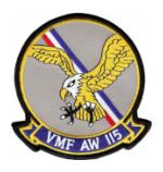 Marine All Weather Fighter Squadron VMF(AW)-115 Patch