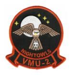 Marine Unmanned Aerial Vehicle Squadron VMU-2 Patch