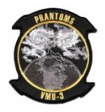 Marine Unmanned Aerial Vehicle Squadron VMU-3 Patch