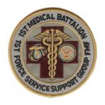 1st Medical Battalion, 1st Force Service Support Group Patch