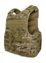 Quick Release Plate Carrier Multicam