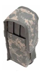 M.O.L.L.E. Triple Magazine Pouch (Army ACU Digital)