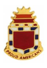32nd Field Artillery Battalion Distinctive Unit Insignia