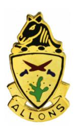 11th Armored Cavalry Distinctive Unit Insignia