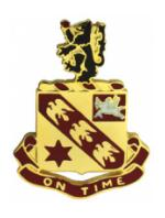 11th Field Artillery Distinctive Unit Insignia