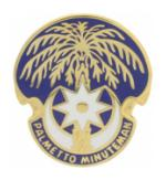 South Carolina STARC Distinctive Unit Insignia