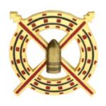 41st Field Artillery Brigade Distinctive Unit Insignia