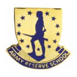 Reserve School Distinctive Unit Insignia