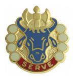 213th Quarter Masters Battalion Distinctive Unit Insignia