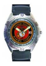 RAM Diver Watch with Date Display (Marine)