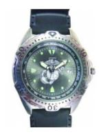 RAM Diver Watch with Date Display Black Face (Marine)