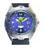 RAM Diver Watch with Date Display (Air Force)