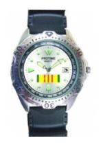 RAM Diver Watch with Date Display (Vietnam Ribbon)