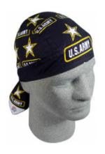 Army Headwrap (Star Logo)