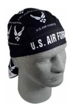 Air Force Headwrap (Many Logos)