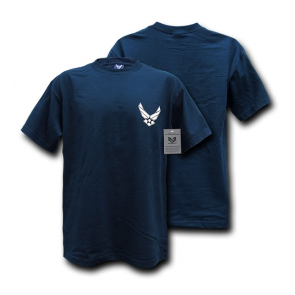 Rapid Dominance Air Force Logo T-Shirt (Navy Blue)