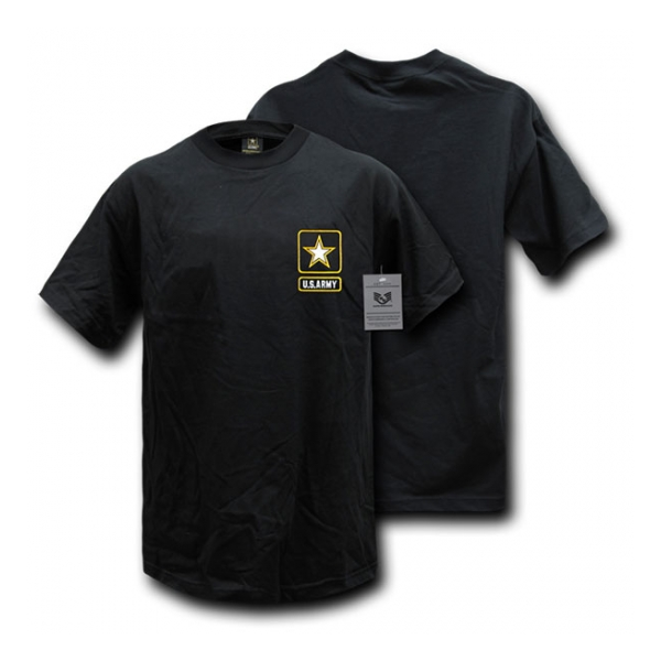 Rapid Dominance Army Logo T-Shirt (Black)