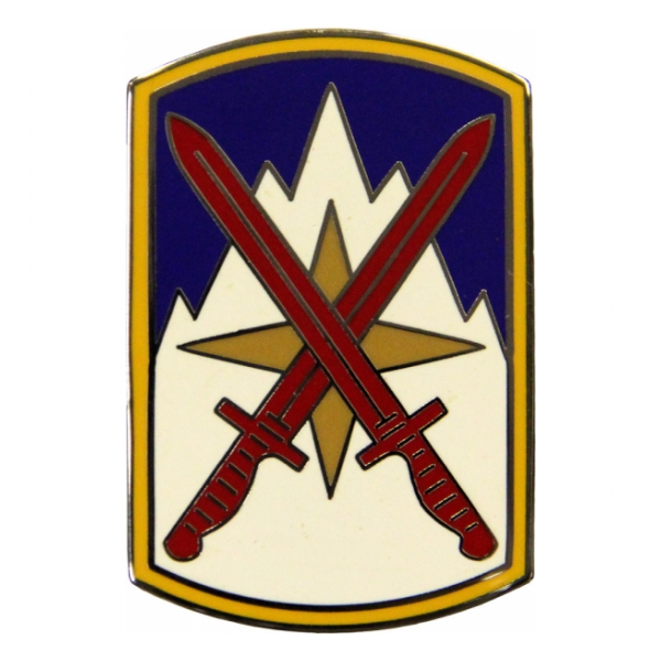 10th Sustainment Brigade Combat Service I.D. Badge