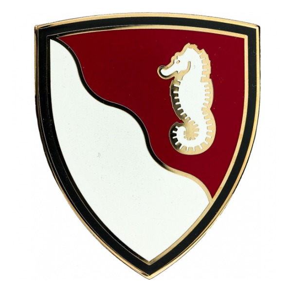 36th Engineer Brigade Combat Service I.D. Badge