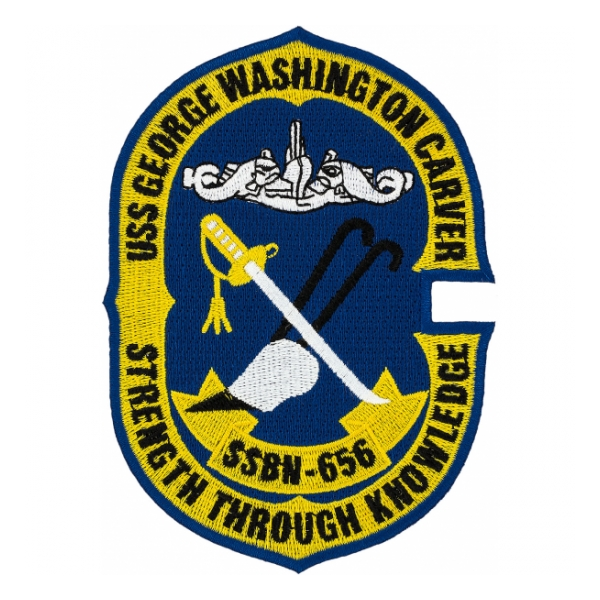 USS George Washington Carver SSBN-656 Patch
