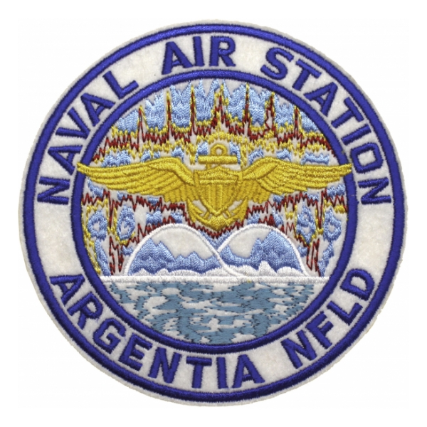 Naval Air Station Argentia NFLD Patch