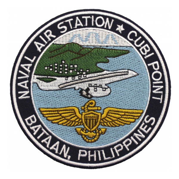 Naval Air Station Cubi Point Bataan, Philippines Patch