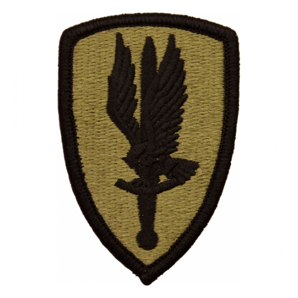 1st Aviation Brigade Scorpion / MultiCam OCP Patch With Hook Fastener