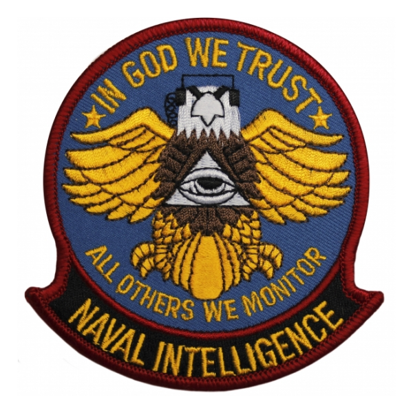 Naval Intelligence Patch