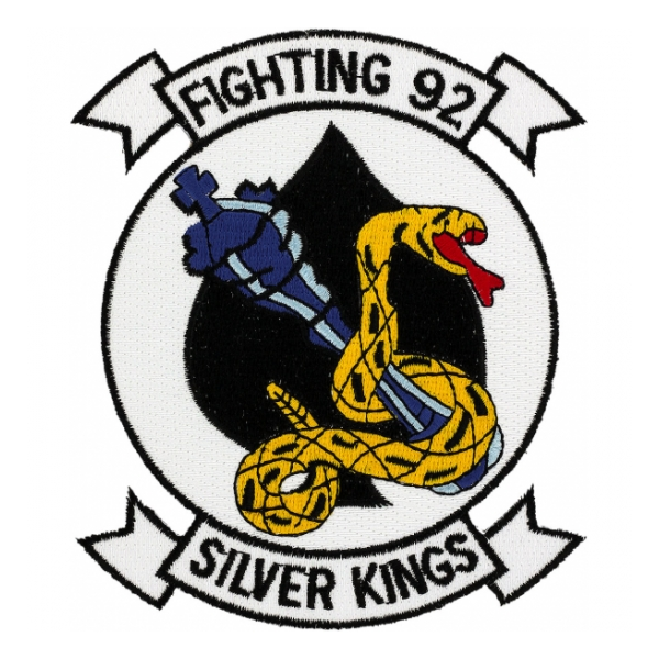 Navy Fighter Squadron VF-92 Patch