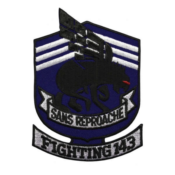 Navy Fighter Squadron VF-143 Sans Reproache Patch