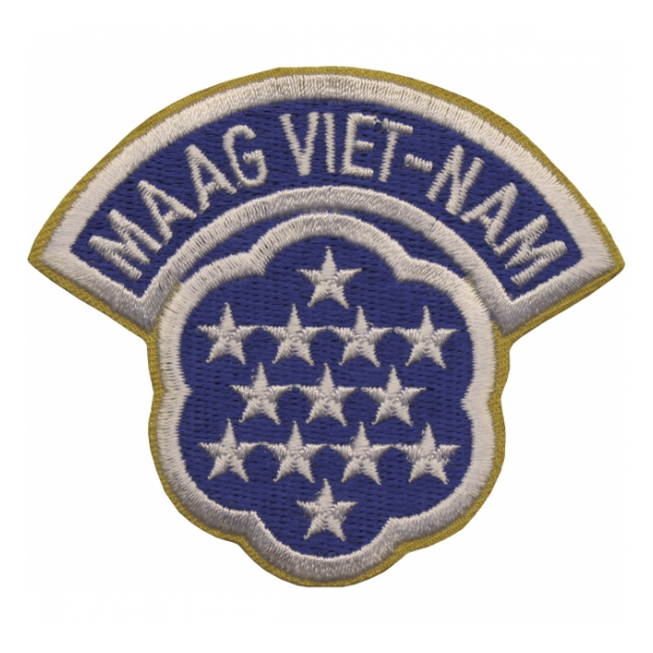 MAAG Viet-Nam (Military Aid and Advisor Group Vietnam) Patch