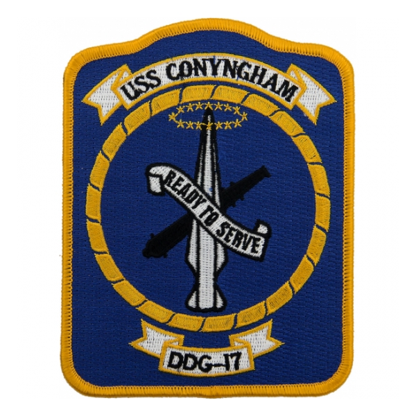 USS Conyngham DDG-17 Ship Patch