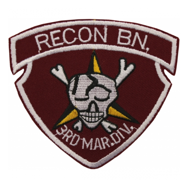3rd Marine Recon Battalion Patch