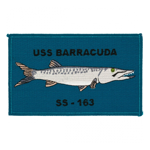 USS Barracuda SS-163 Patch