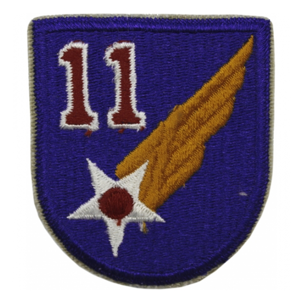 11th Air Force Patch Museum of Aviation Foundation