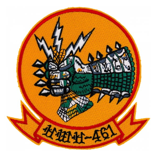 Marine Helicopter Transport Squadron  (Medium) HMR(M) - 461 Patch