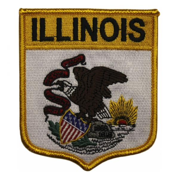 Illinois State Shield Patch