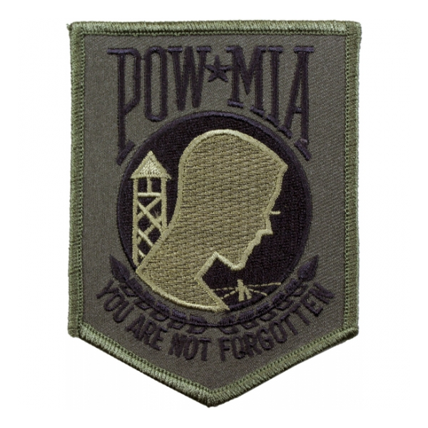 POW * MIA Patch (Green \ Black)