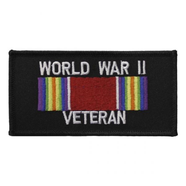 World War II Veteran Ribbon Patch | Flying Tigers Surplus