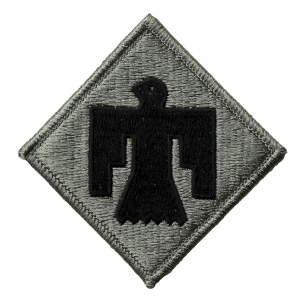 45th Infantry Division Patch Foliage Green (Velcro Backed)