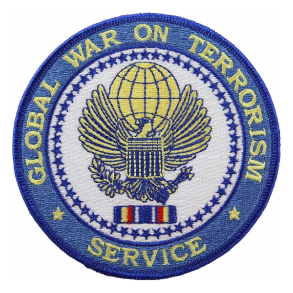 Global War On Terrorism Service Patch