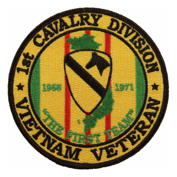 1st Cavalry Division Vietnam Veteran Patch Flying Tigers