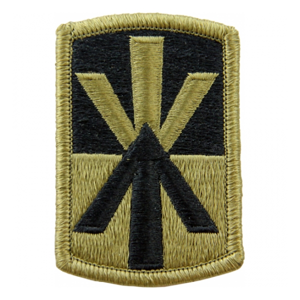 11th Air Defense Artillery Scorpion / OCP Patch With Hook Fastener