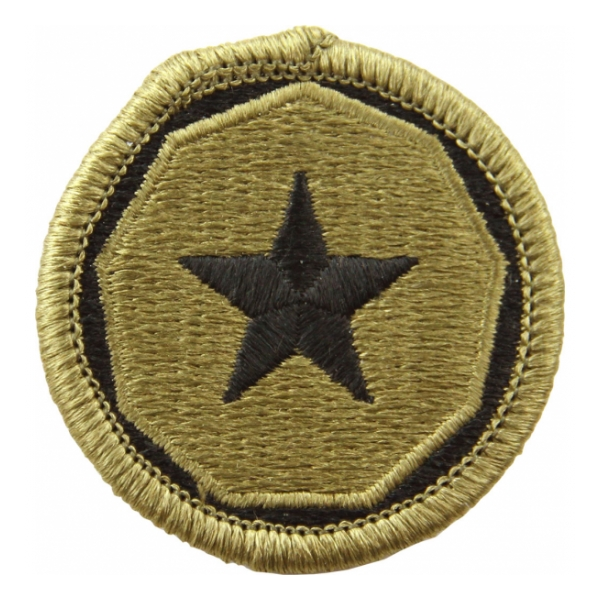 9th Support Command Scorpion / OCP Patch With Hook Fastener