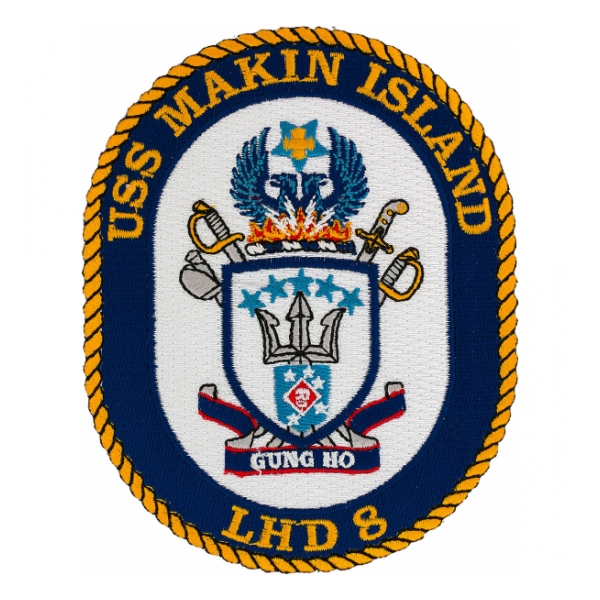 USS Makin Island LHD-8 Ship Patch