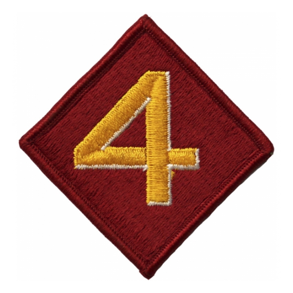 4th Marine Division Patch