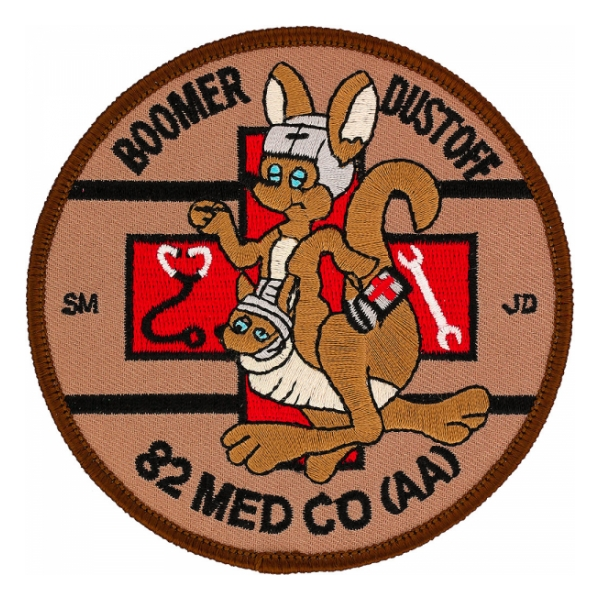 82nd Air Ambulance  Medical Company Dustoff Patch