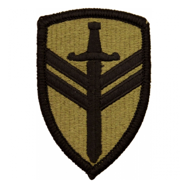2nd Support Brigade Scorpion / MultiCam OCP Patch With Hook Fastener