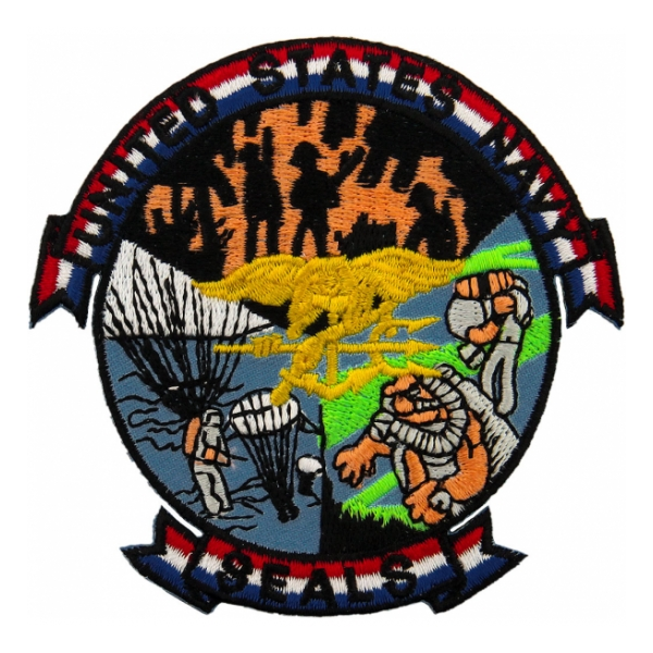 US Navy Seals Patch | Flying Tigers Surplus