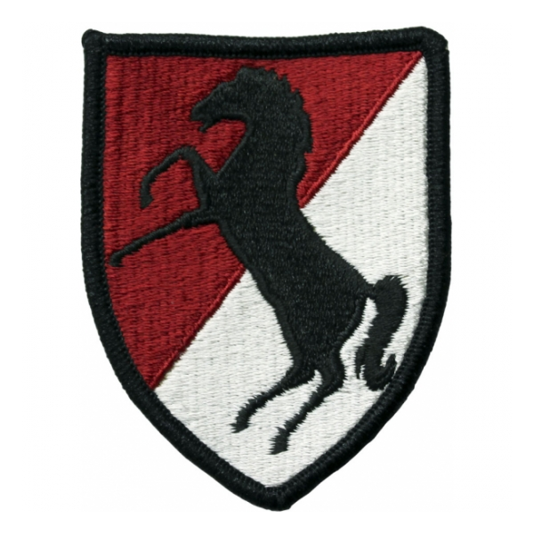 11th Armored Cavalry Regiment Patch